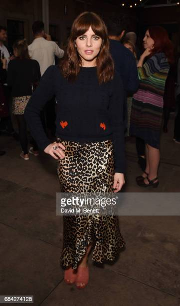 Ophelia Lovibond attends the launch of new book Jackson Levine Round To Ours by Laura Jackson and Alice Levine at Hoxton Docks on May 17 2017 in...