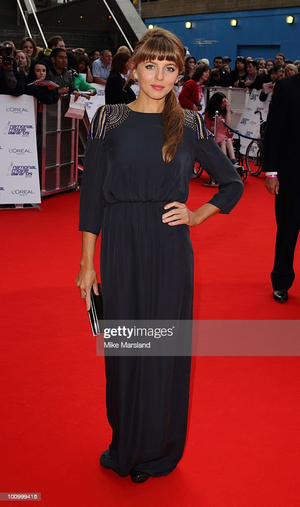 Ophelia Lovibond attends the National Movie Awards 2010 at the Royal Festival Hall on May 26, 2010 in London, England.