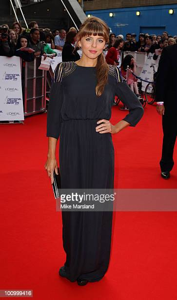 Ophelia Lovibond attends the National Movie Awards 2010 at the Royal Festival Hall on May 26 2010 in London England
