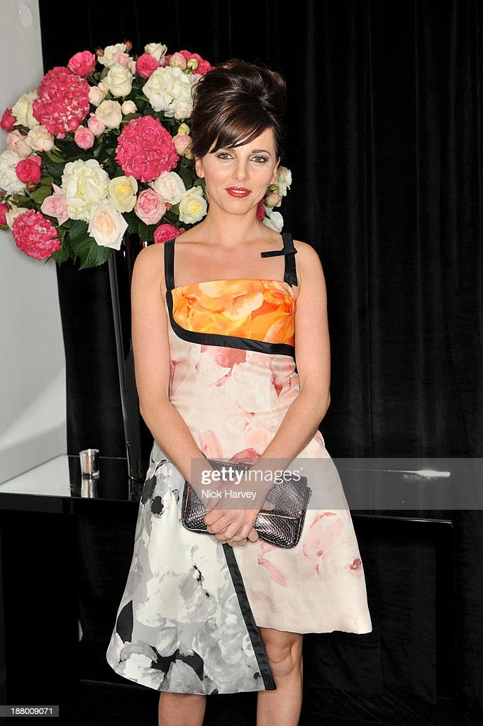 Ophelia Lovibond attends the opening of Dior Beauty Boutique on November 14, 2013 in Covent Garden, London, England.