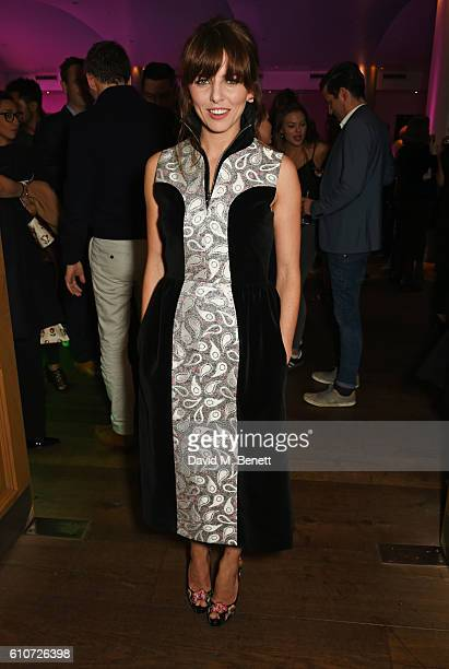 Ophelia Lovibond attends the press night after party for The Libertine at the Haymarket Hotel on September 27 2016 in London England
