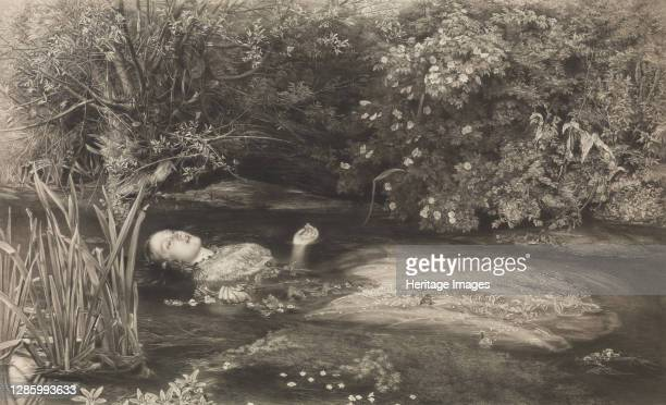 Ophelia , March 1, 1866. Artist James Stephenson.