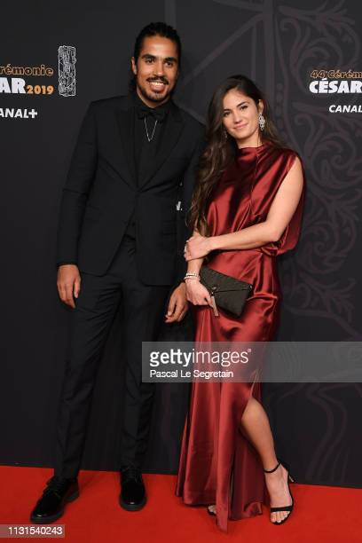 Ophelie Bau and Romeo de Lacour attend Cesar Film Awards 2019 at Salle Pleyel on February 22 2019 in Paris France