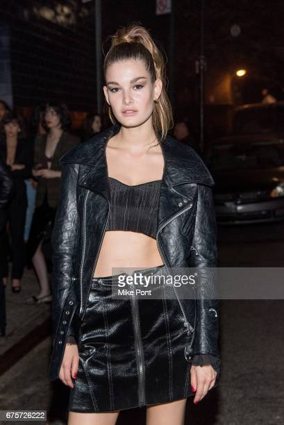 Ophelie Guillermand attends the Rei Kawakubo/Comme des Garcons Art Of The InBetween Costume Institute Gala after party at 1 Oak on May 1 2017 in New...
