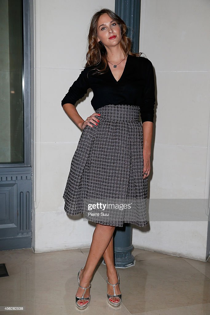 Ophelie Meunier attends the John Galliano show as part of the Paris Fashion Week Womenswear Spring/Summer 2015 on September 28, 2014 in Paris, France.