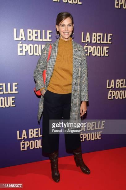 Ophelie Meunier attends the La Belle Epoque premiere at cinema Gaumont Opera Capucines on October 17 2019 in Paris France