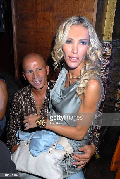 Ophelie Winter and Dida during Buddha Bar 10th Anniversary Diner Party at Buddha Bar in Paris France