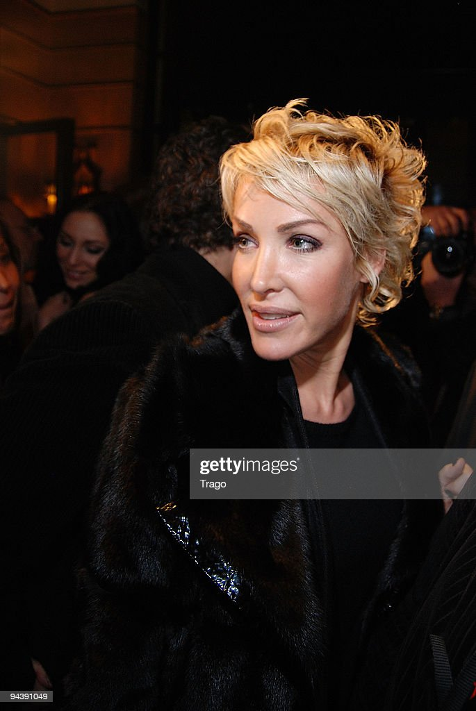 Ophelie Winter attends jeweler Edouard Nahum's presentation of a new collection at Mathis Club on December 13, 2009 in Paris, France.