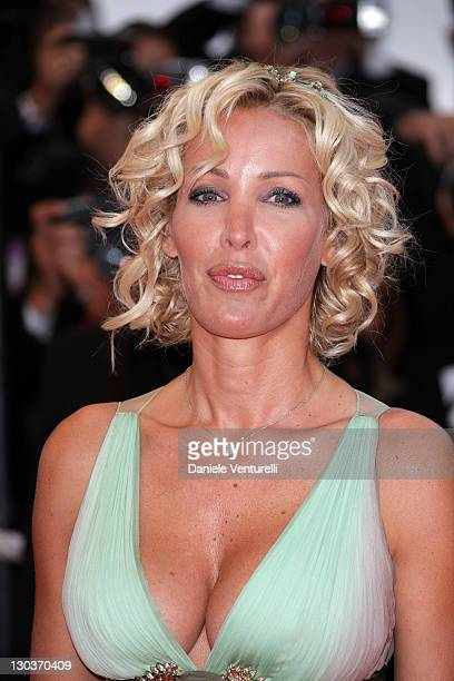 Ophelie Winter attends the 'Vicky Cristina Barcelona' premiere at the Palais des Festivals during the 61st Cannes International Film Festival on May...