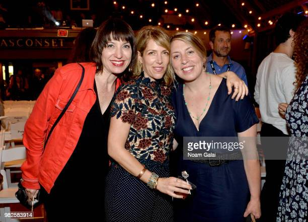 Ophira Eisenberg Nancy Schwartzman and Mystelle Brabbee attend the Screenwriters Tribute at the 2018 Nantucket Film Festival Day 4 on June 23 2018 in...