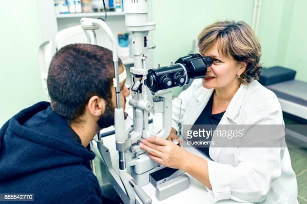 Ophthalmology Sehkraft Untersuchung
