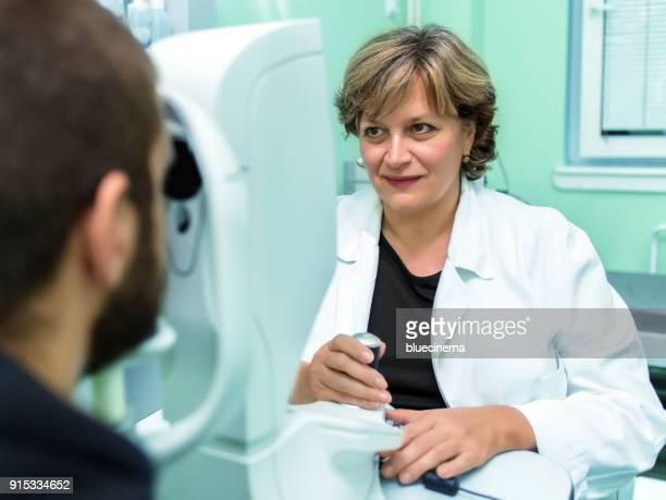 ophthalmology eyesight examination - conjunctivitis stock pictures, royalty-free photos & images