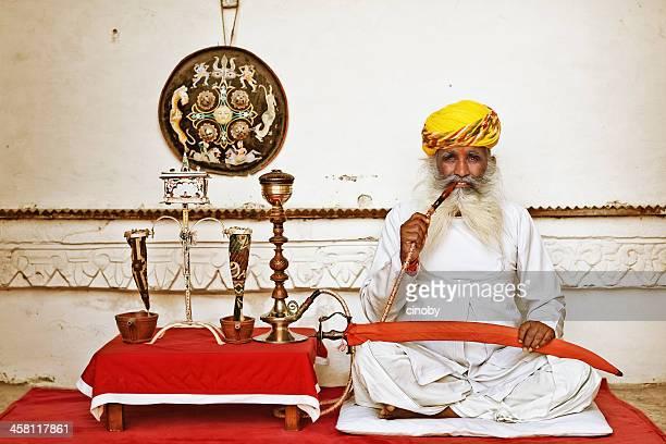 Opium Mann von Mehrangarh Fort in Jodhpur