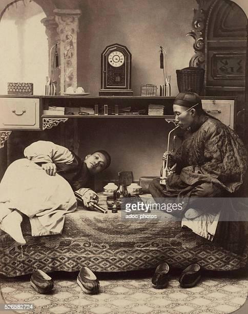Opium smokers Ca 1880