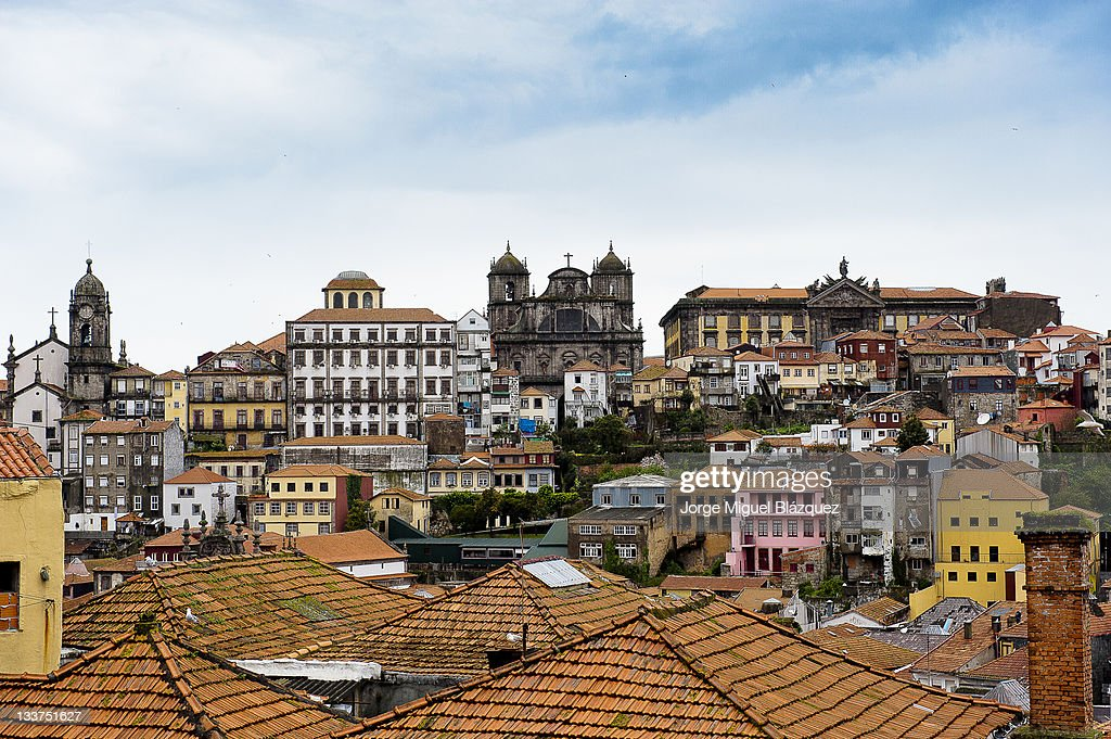 Oporto city center : Foto de stock