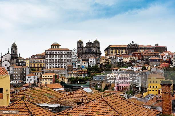 Oporto city center