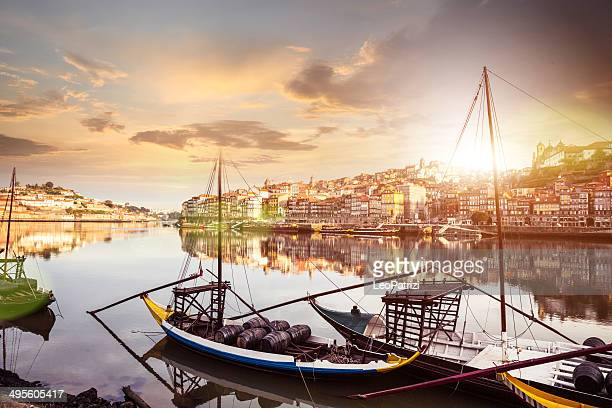 oporto view from the the douro river - portugal stock pictures, royalty-free photos & images
