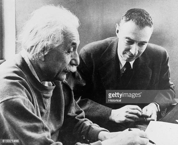 Oppenheimer Learning from Einstein