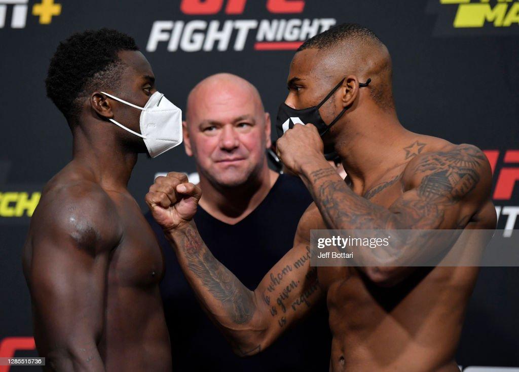 UFC Fight Night Felder v Dos Anjos: Weigh-Ins : News Photo