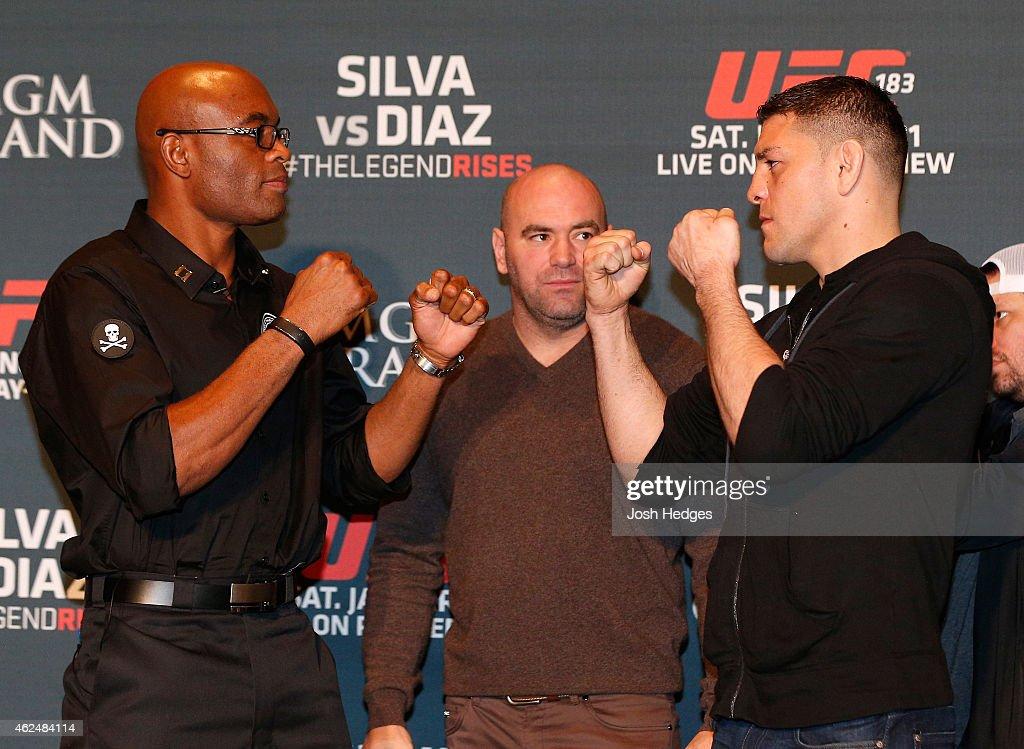 UFC 183 Ultimate Media Day