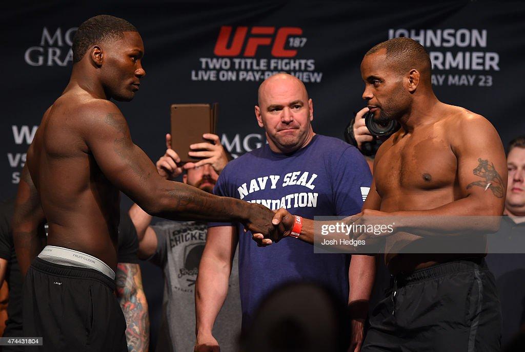 UFC 187 Weigh-in
