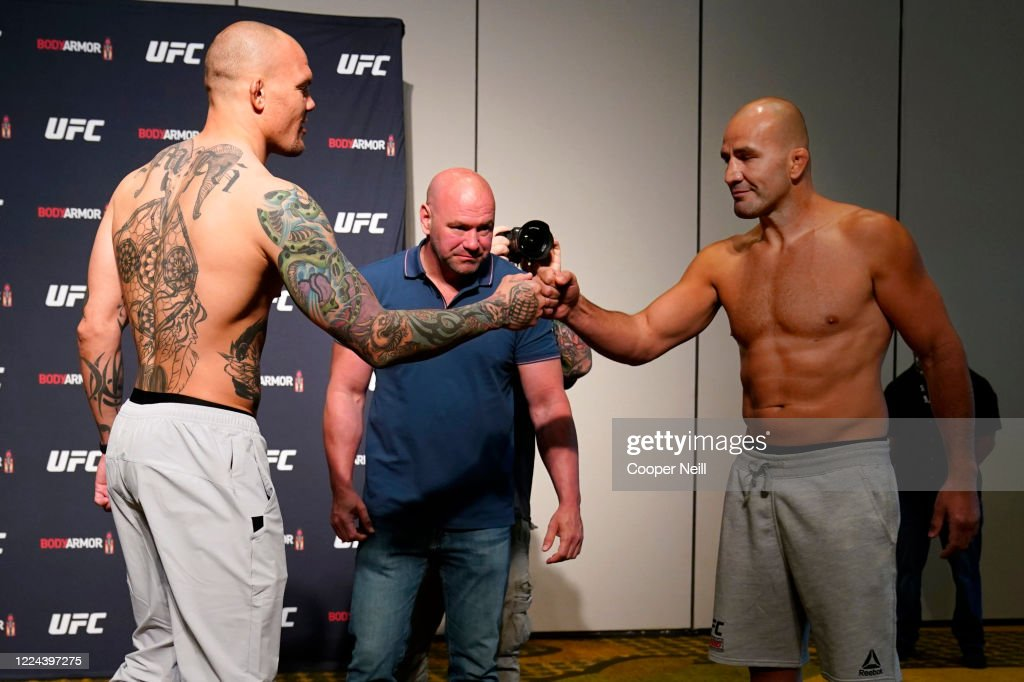 UFC Fight Night Smith v Teixeira:  Weigh-Ins : News Photo