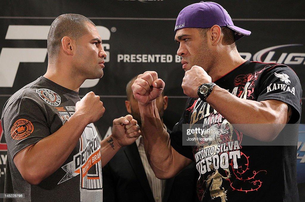 UFC 146: Dos Santos v Mir - Press Conference