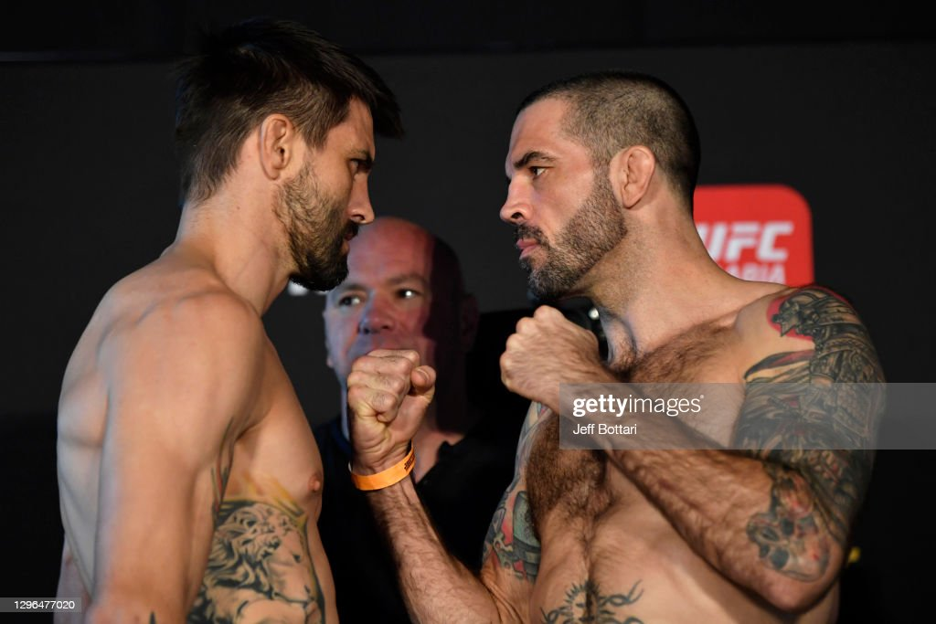 UFC Fight Night Holloway v Kattar:  Weigh-Ins : News Photo