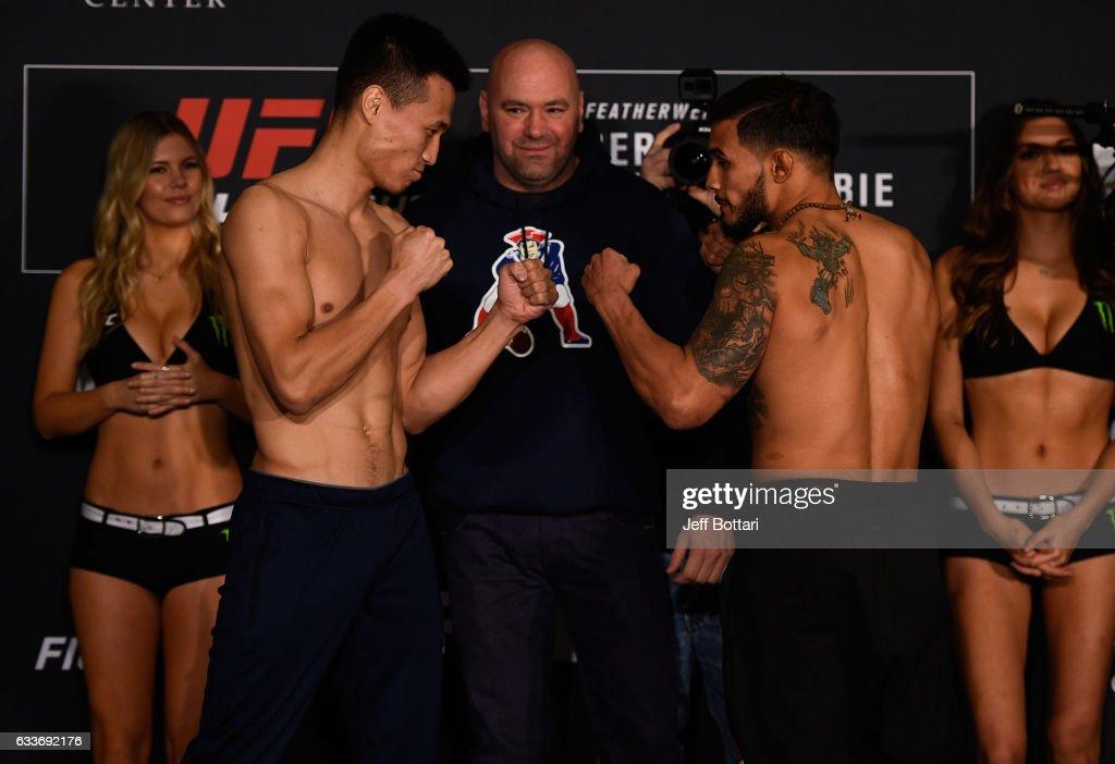 UFC Fight Night: Weigh-in