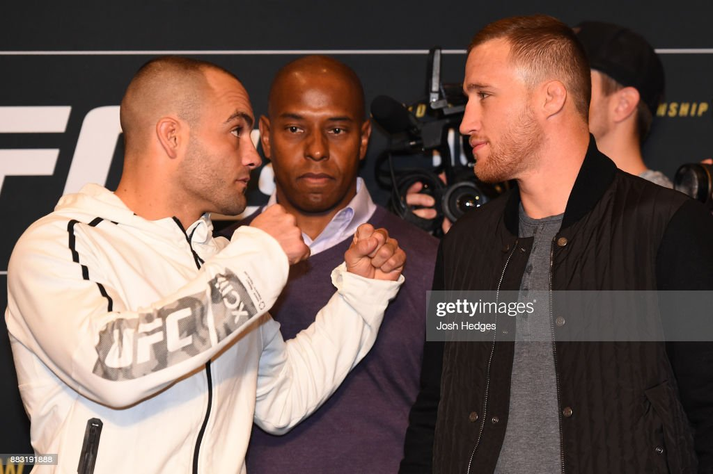 UFC 218 Ultimate Media Day : News Photo