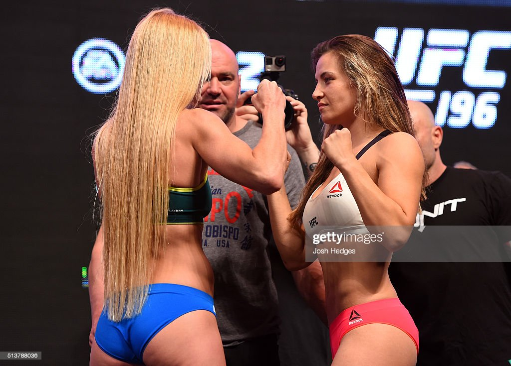 UFC 196 Weigh-in : News Photo