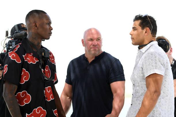 ARE: UFC 253: Adesanya v Costa Press Conference