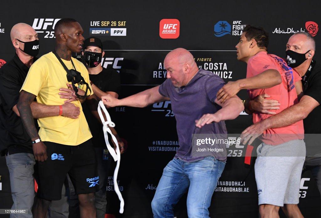 UFC 253 Adesanya v Costa: Weigh-Ins : News Photo