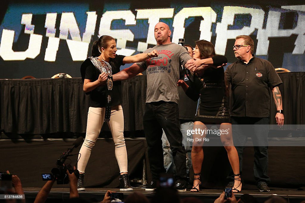 UFC Unstoppable Launch Press Conference