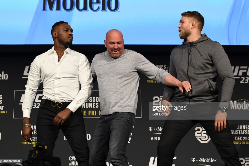 UFC 232 Press Conference : News Photo