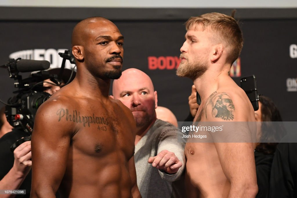 UFC 232 Weigh-ins : Foto jornalística