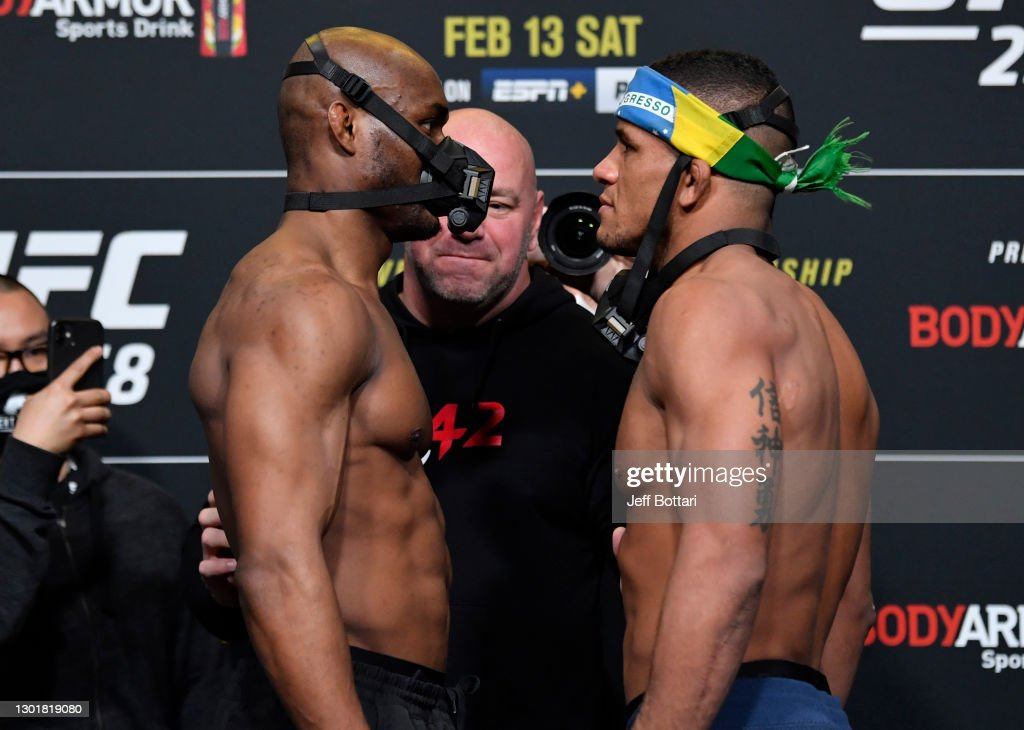UFC 258 Usman v Burns: Weigh-Ins : News Photo