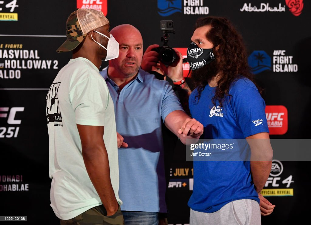 UFC 251 Usman v Masvidal: Weigh-Ins : News Photo