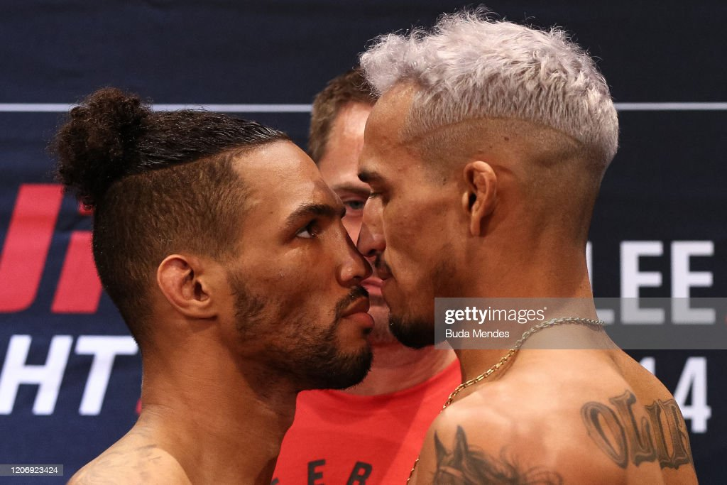 UFC Fight Night Lee v Oliveira: Weigh-Ins : News Photo