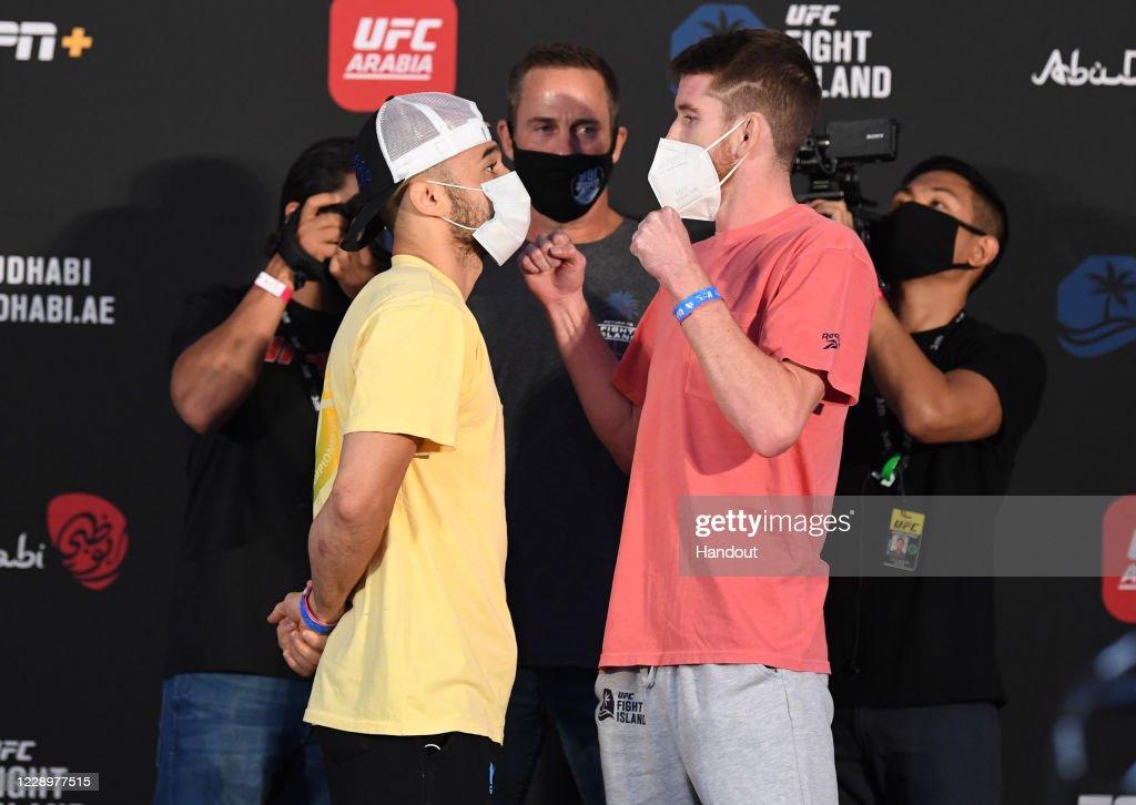 UFC Fight Night Moraes v Sandhagen: Weigh-Ins : News Photo