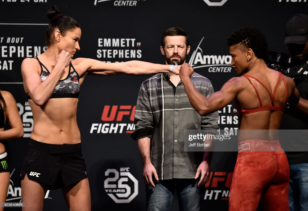UFC Fight Night: Weigh-ins : News Photo