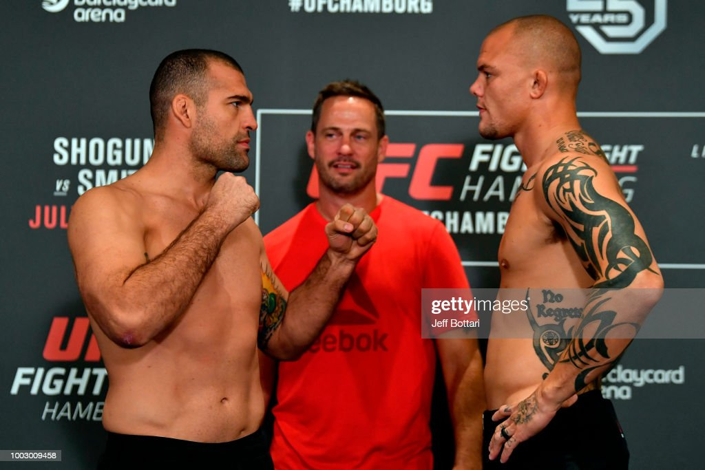 UFC Fight Night Shogun v Smith: Weigh-ins : News Photo