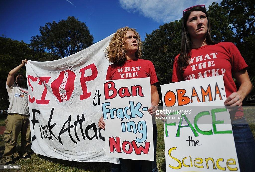 US-ENVIRONMENT-FRACKING : News Photo