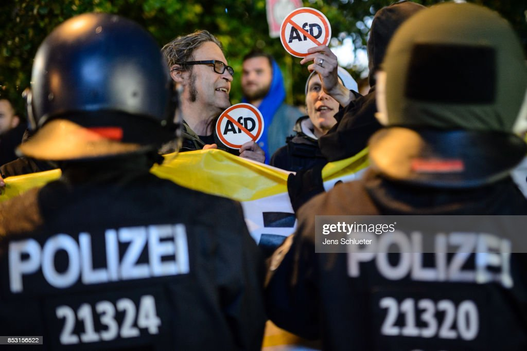 Election Night: Alternative for Germany (AfD) : News Photo