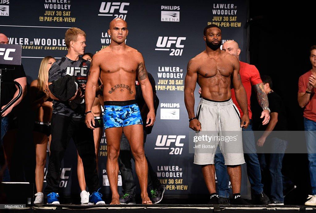 UFC 201 Weigh-in : News Photo