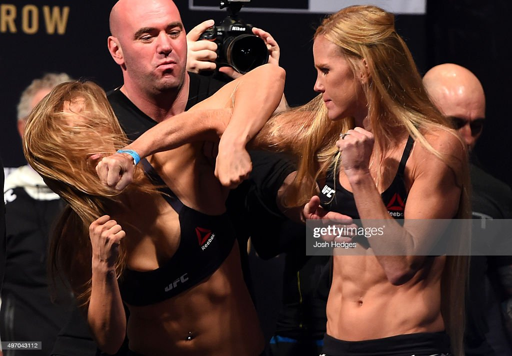 UFC 193 Weigh-in : ニュース写真