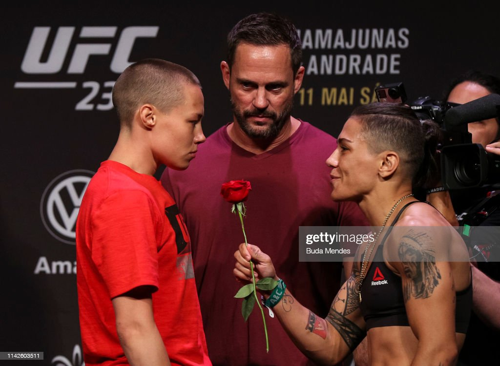 UFC 237 Namajunas v Andrade: Weigh-Ins : News Photo