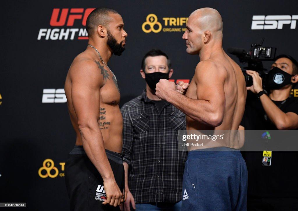 UFC Fight Night Santos v Teixeira: Weigh-Ins : News Photo