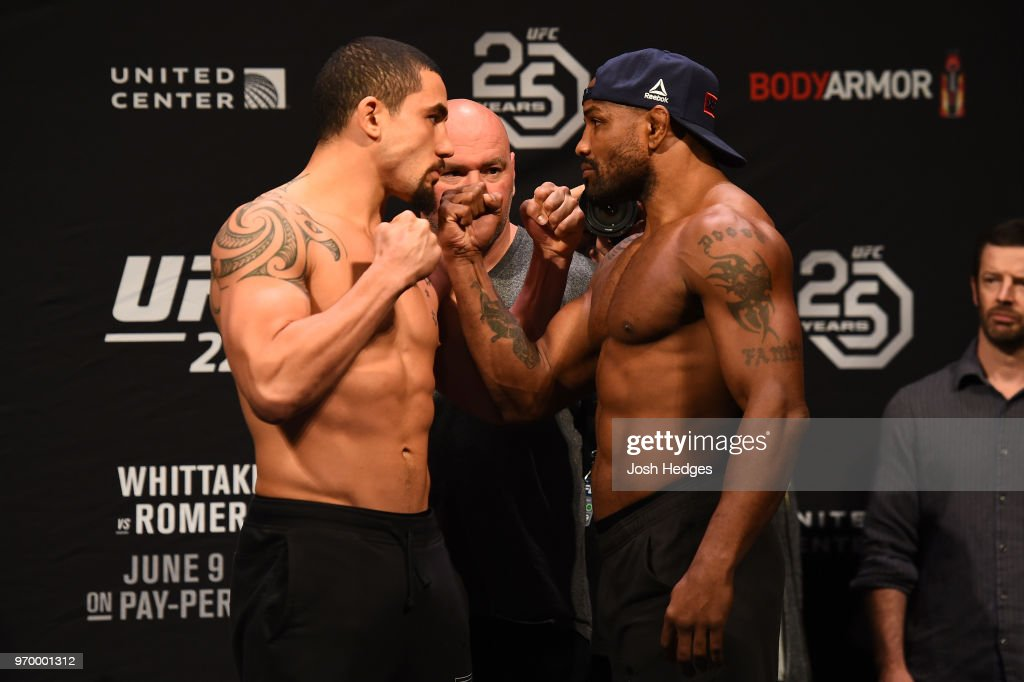 UFC 225 Weigh-in : News Photo