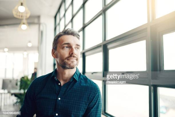 opportunity doesn't hang around, neither should you - man in office stock photos and pictures